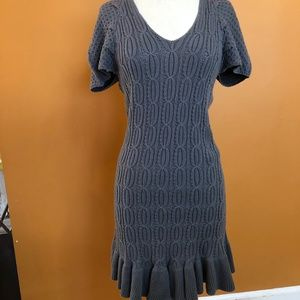 Fredrick's grey sweater dress